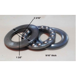 Used Hercus headstock spindle thrust bearings---part No.85