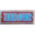 New Hercus lathe nameplate---part No.16b0371a