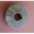New Hercus graduated  dial for metric thread chaser---part No.5H953