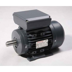 NEW .37KW single phase electric motor-- 4 pole reversable