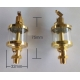 2 X 25ml sight oiler for Hercus 9 headstock---part No.89so