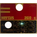 NEW hercus 260G speed plate--part No.5H371