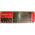 NEW Hercus 260- Model AT impeial gearbox index chart--Part No.5H591