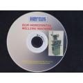 GENUINE HERCUS DVD ON HOW TO OPERATE A HERCUS MILLING MACHINE AND ATTACHMENTS--part No.dvd-08