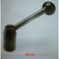 adjustable clamping lever-ball handle